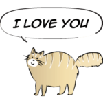 animals say: i love you