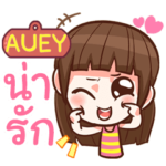 AUEY cute girl with big eye e