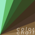 Which Green? Which Brown? color chart